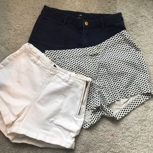 H&M short bundle